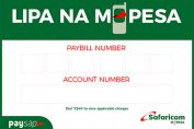 kcb mpesa paybill number